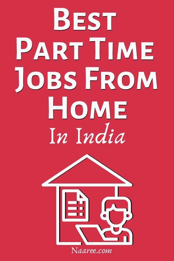best part time jobs from home in India